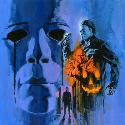 Halloween II - Original Score - Orange Vinyl - OOP - John Carpenter](Halloween Ii Score)