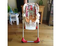 Polly 2-1 Chicco high chair