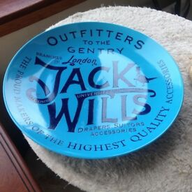 Jack Wills collectable Plate