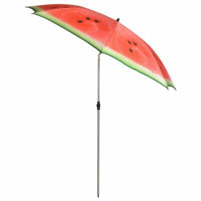 Esschert Design Parasol Watermelon 184 cm Red and Green Patio Sunshade TP262