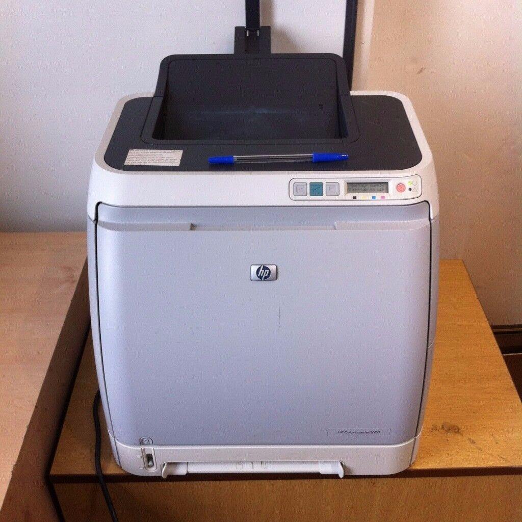 HP Color LaserJet 1600 printer Colour
