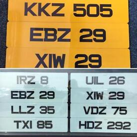Metro Style Number Plates Made While You Wait