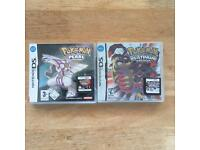 Pokemon pearl and platinum