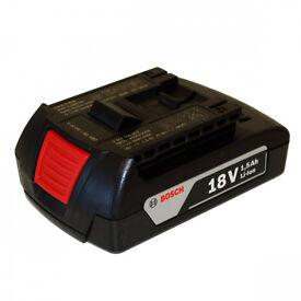 Original Bosch 18v 1.5ah battery Li-Ion Fast Charging brand new
