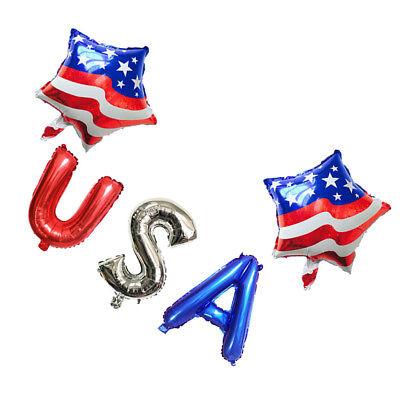 Patriotische Party Ballon Dekoration Set USA 4. Juli Juli Memorial Day