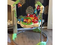 Baby rain forest bouncer