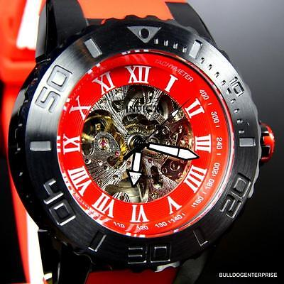 Invicta Pro Diver Master Of The Ocean 51mm Automatic Exhibition Red Watch New