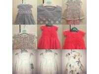 Selection Of Brand New Baby Girl Outfits/Dresses