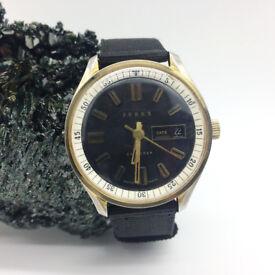 A beautiful vintage 1960s Gents Ferex Calendar wrist watch