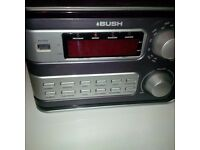 Compact CD player with Alarm clock