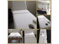 Brand new mobile foldaway massage table.