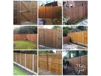 Fencing. Replacement Panels. Timber & Concrete.