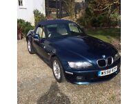 BMW Z3 very good condition, genuine low mileage.12 mot. Wide body version. Reg year 2000