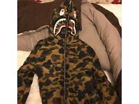 Bape jacket camo
