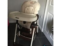 Hauck Sit 'n' Relax Two in One High Chair - Good Condition