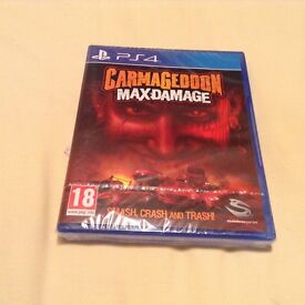 LOOK BRAND NEW SEALED CARMAGEDOON MAXDAMAGE FOR PS4