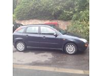 Ford Focus 1.6 petrol no MOT must go by weekend... Full service history.. 2 owners from new....