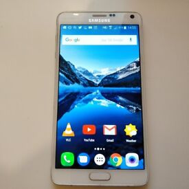 Samsung Galaxy Note 4 Smartphone, Unlocked, White, 32GB (Great Condition) Free Delivery