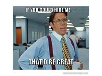 Looking for work IT, Admin, Data Entry, supervisory, management
