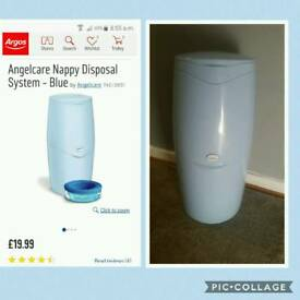 NEW Angelcare nappy disposal bin unit