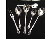 Reed & Barton Silver Spoon and Fork Set Brand New