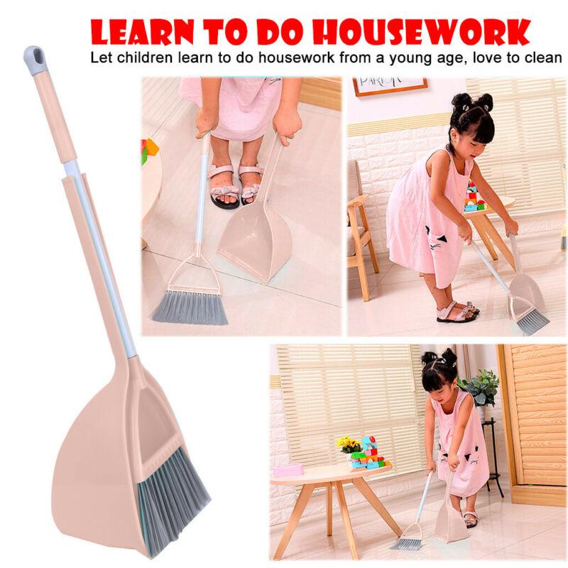Kid's Housekeeping Cleaning Tools Set-3pcs,