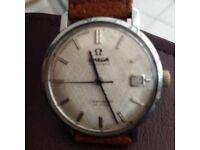 1960s Omega seamaster de-ville watch automatic