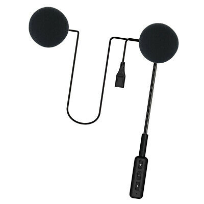 Casco Auriculares Bluetooth Pieza de Intercomunicador para Llamada en Moto
