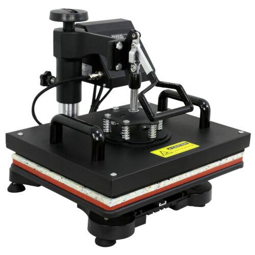 "12″x15"" Heat Press Machine Transfer Subimaltion T-shirt Cap Swing Mug Cap 6 in1 Business & Industrial"