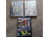 Marvel X Man DVD season 1and 2 and 3