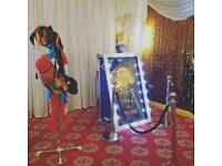 Magic selfie mirror Photobooth FROM 225.00 for 2 hours, for HIRE in London and surrounding areas