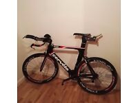 Cevelo P2 Time Trial (TT) Carbon Bike Frame - Excellent Condition- Frame Size 58 cm - Ultegra