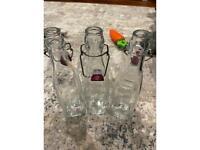 Three Kilner bottles (500ml)