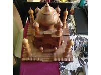 Taj Mahal hand craft model