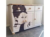 Beautiful Fully Refurbished Painted Sideboard Shabby Chic Style