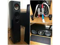 KEF XQ SERIES SET OF SPEAKERS (MINT CONDITION)