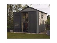 Keter Oakland Garden Shed 759 (2.87m x 2.29m) Cheapest in UK !! LAST ONE !!