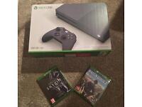 Xbox One S Storm Grey Bundle Sealed & Brand New