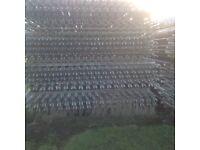 Galvanised Palisade Fencing