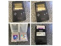 Nintendo Gameboy pocket black with Tetris