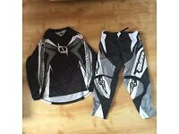 MSR motor cross top and trousers