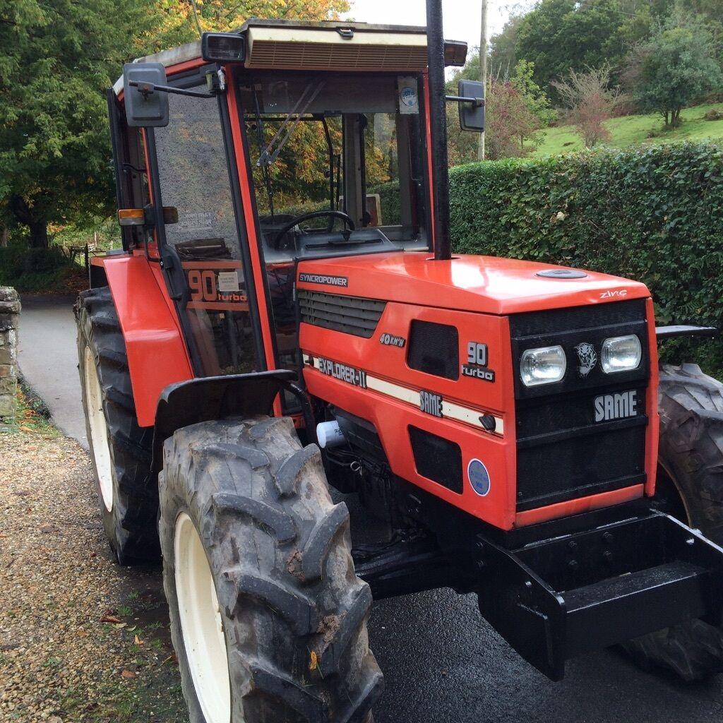 Same Tractor 90 : Same explorer tractor for sale in pontarddulais