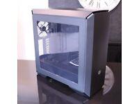 Cooler Master MasterCase Pro 6, Premium Mid Tower Desktop PC Case, Modular Design, Black + Blue LED
