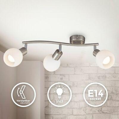 LED Spot Lámpara de Techo 3x E14 5W 3.000K Salón Dormitorio Pasillo