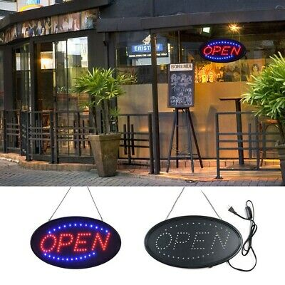 Led Open Sign Ultra Bright Advertising Board Electric Display Sign For Shop Wall
