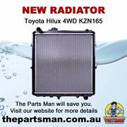 Radiator 3.0L 1KJ-TE Dsl Toyota Hilux 4WD KZN165 8/97-2/05 Adelaide CBD Adelaide City Preview