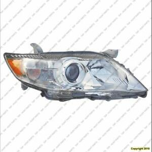 Head Lamp Passenger Side Base-Le-Xle Usa Built Toyota Camry 2010-2011