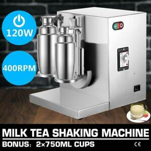 Double-frame-Auto-Bubble-Boba-Tea-Milk-Shaker-Shaking-Making-Machine-Mixer -FREE SHIPPING