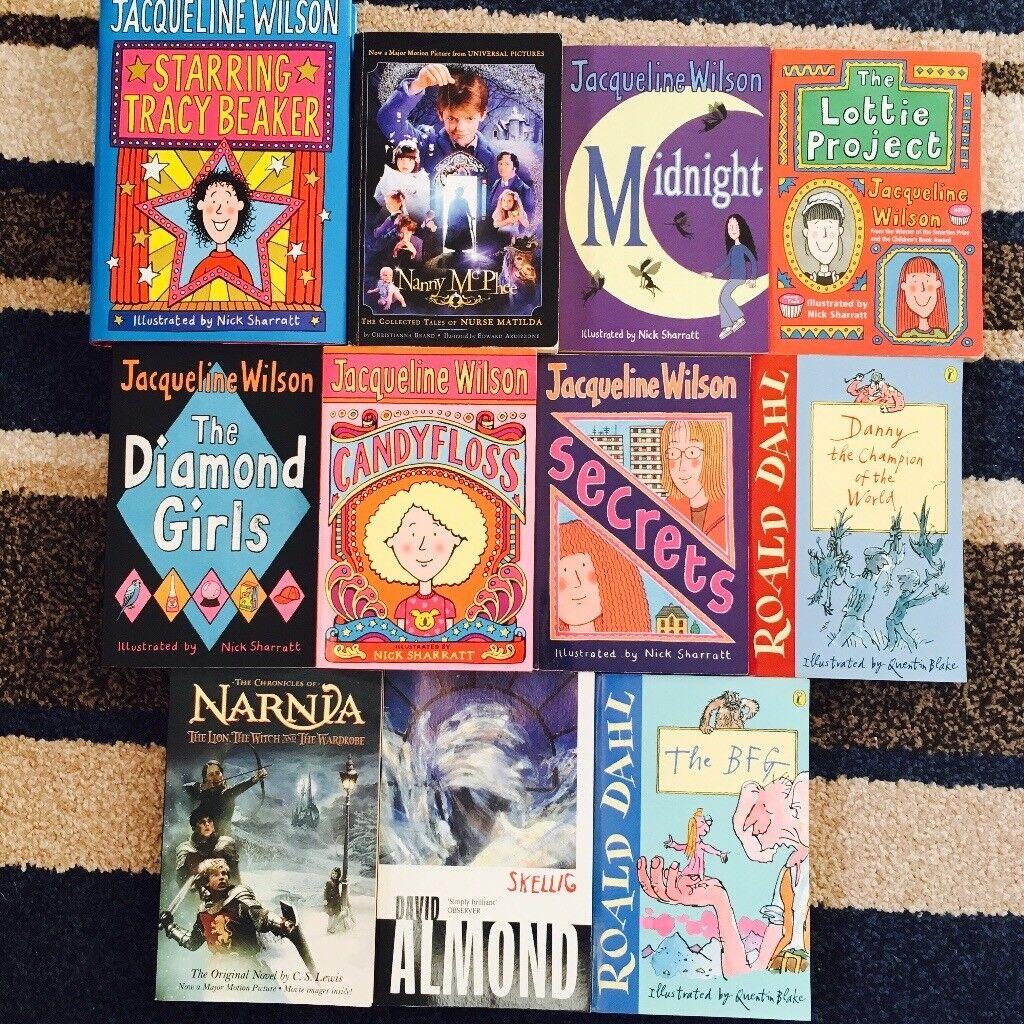 11 Assorted Kids Books