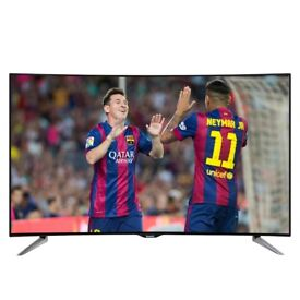 Panasonic Curved 4K UHD Smart 55inch 3D LED TV